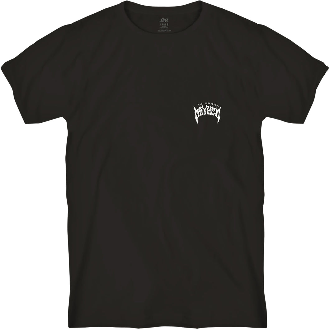 Mayhem Designs Tee Black