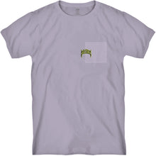 Load image into Gallery viewer, Mayhem Pocket Tee Purple Bleached