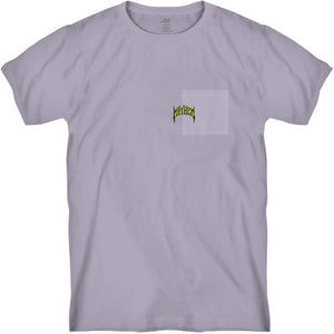 Mayhem Pocket Tee Purple Bleached