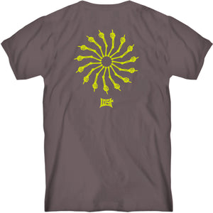 Wheel Of Life Tee Deep Taupe