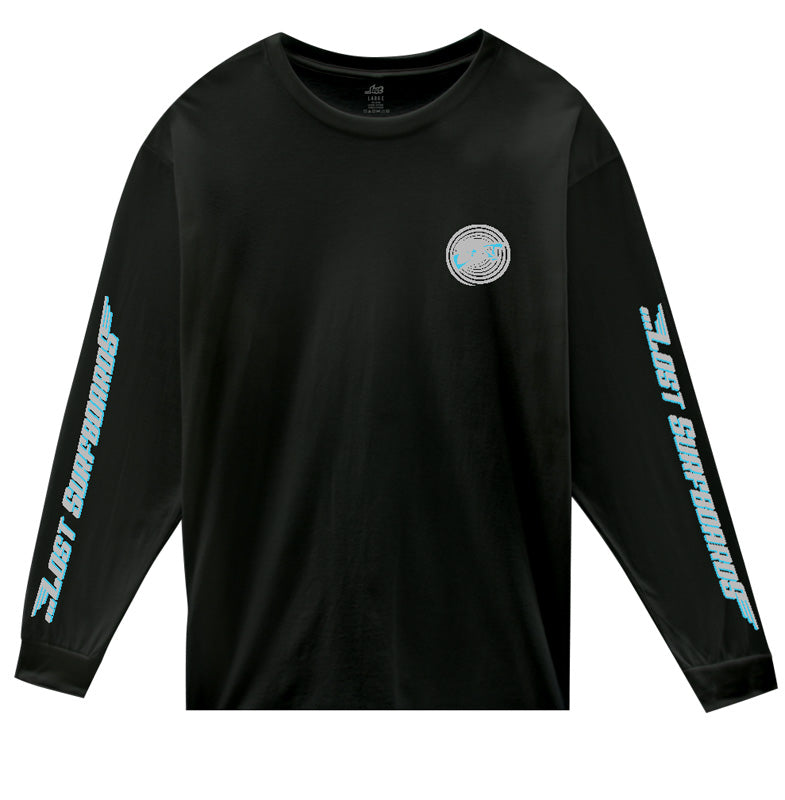 Team Lost L/S Tee Black