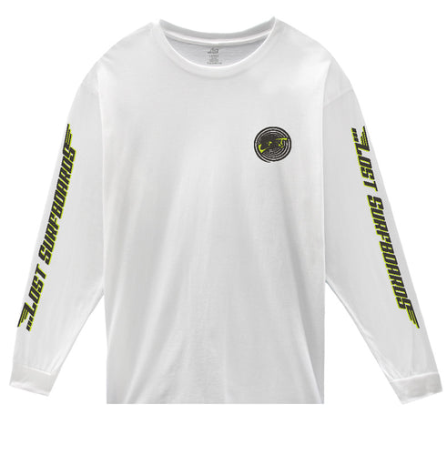 Team Lost L/S Tee White