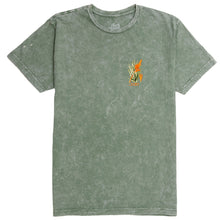 Load image into Gallery viewer, Maya Queen Tee Moss Mineral Wash