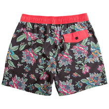 Load image into Gallery viewer, Risky E-Waist Beachshort Black Darkhorse