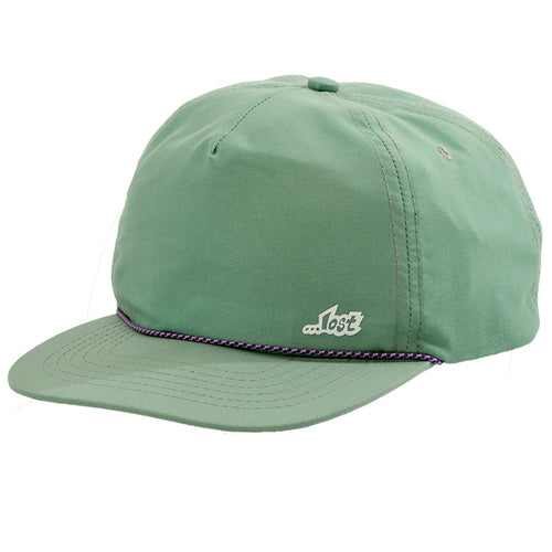 Drifter Unstructured Snapback Hat Moss Green