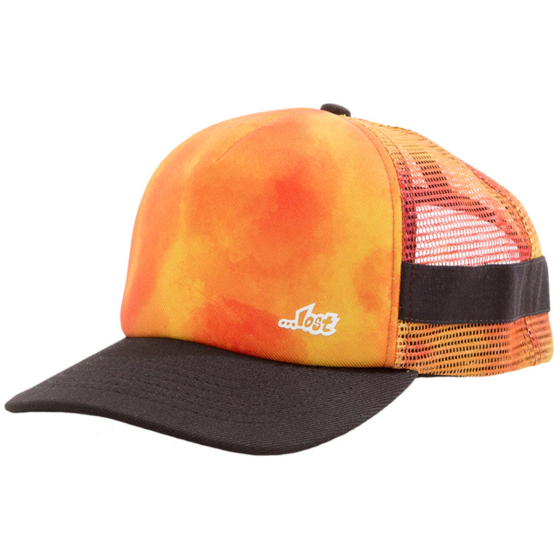 Inertia Trucket Hat Burnt Orange