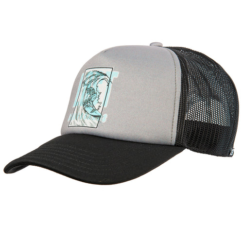 Night Barrels Trucker Grey
