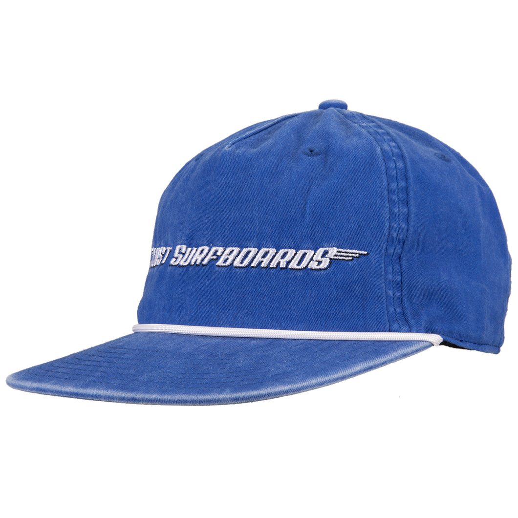 Lost Surfboards Snapback Blue