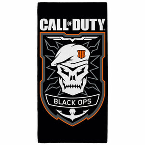 Childrens Call Of Duty Broken Skull Towel