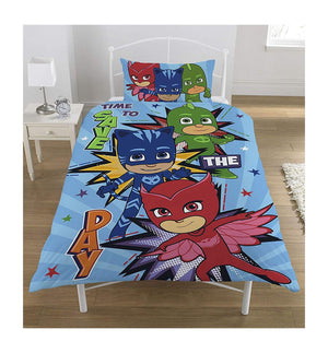 PJ Mask Time To Save The Day Duvet Cover Set