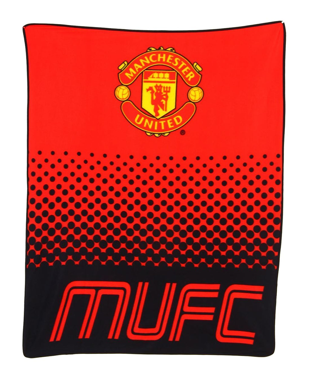 Manchester United Football Club Print sofa Bed Throws