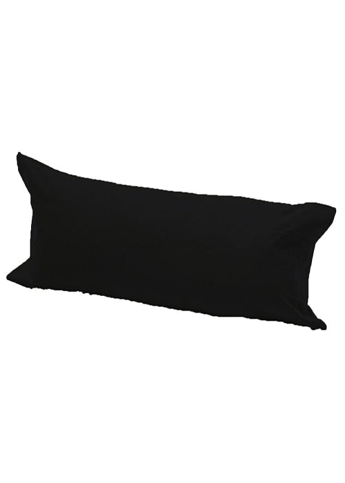 Easy Care Bolster Long Poly cotton Pillow Case Non Allergic Orthopedic Pillow Case