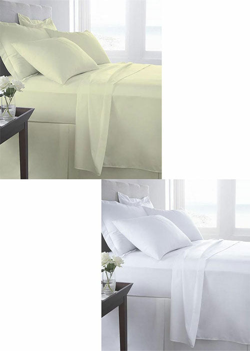 Luxury T400 Egyptian Cotton T-400 Thread Count Duvet Cover Bedding Set