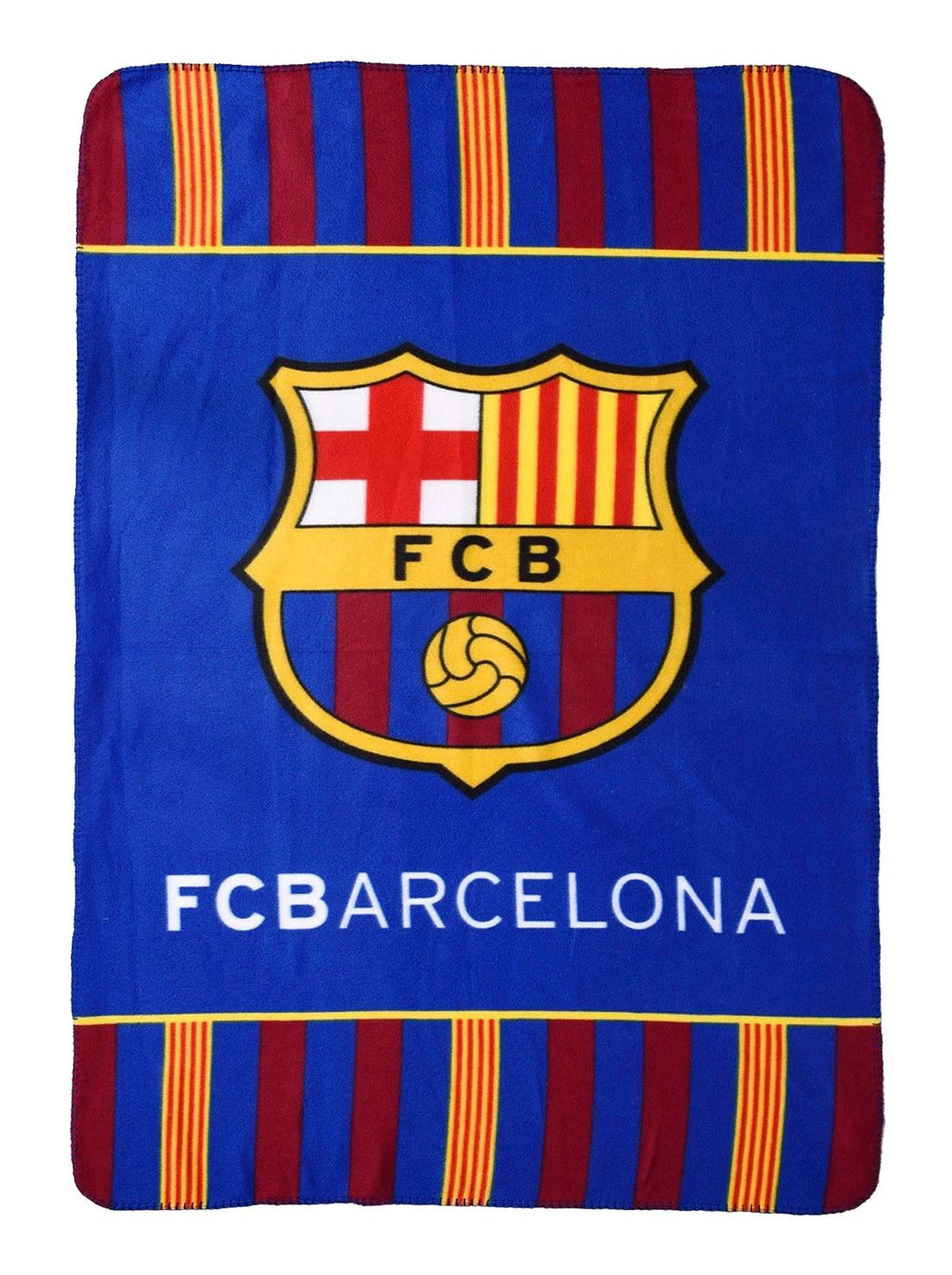 Luxury FC Barcelona Printed Throws