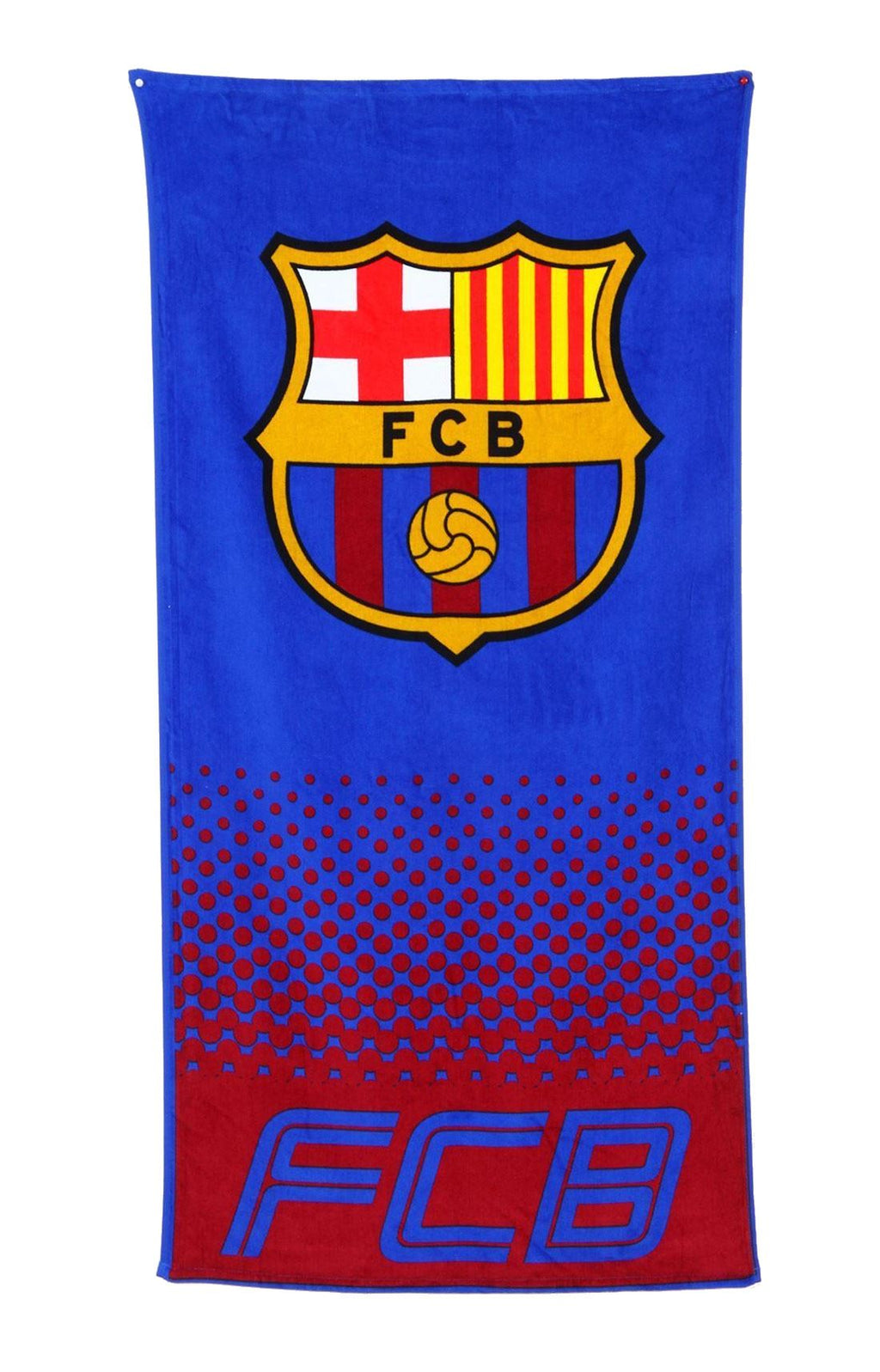 FC Barcelona Football Club Print Bath Towel