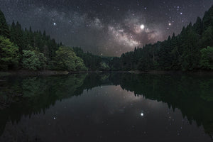 Hourglass of stars - Masashi Takada Photography