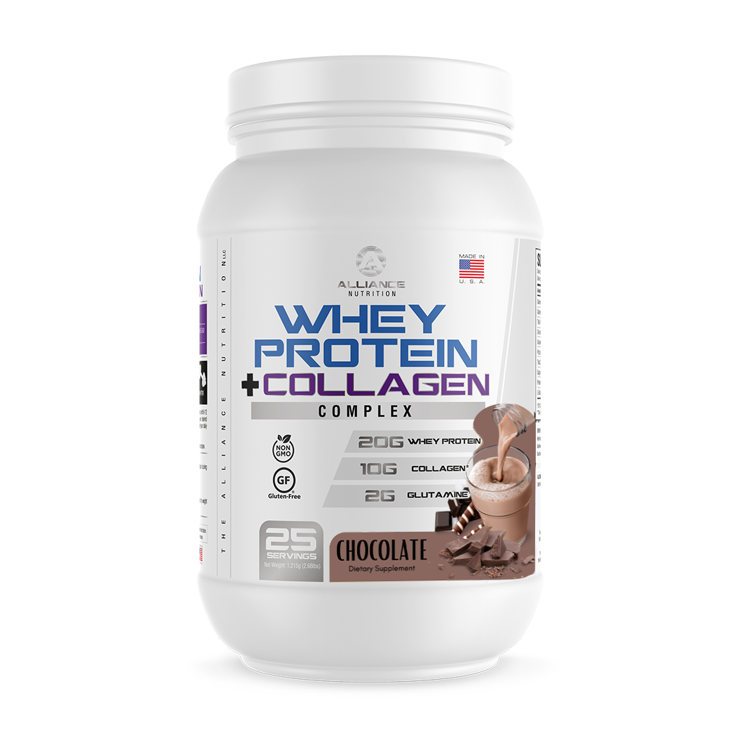 Whey + Collagen Protein Complex - The Alliance Nutrition