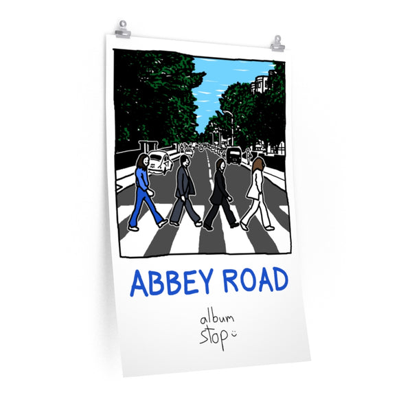 abbey road poster - Album Stop