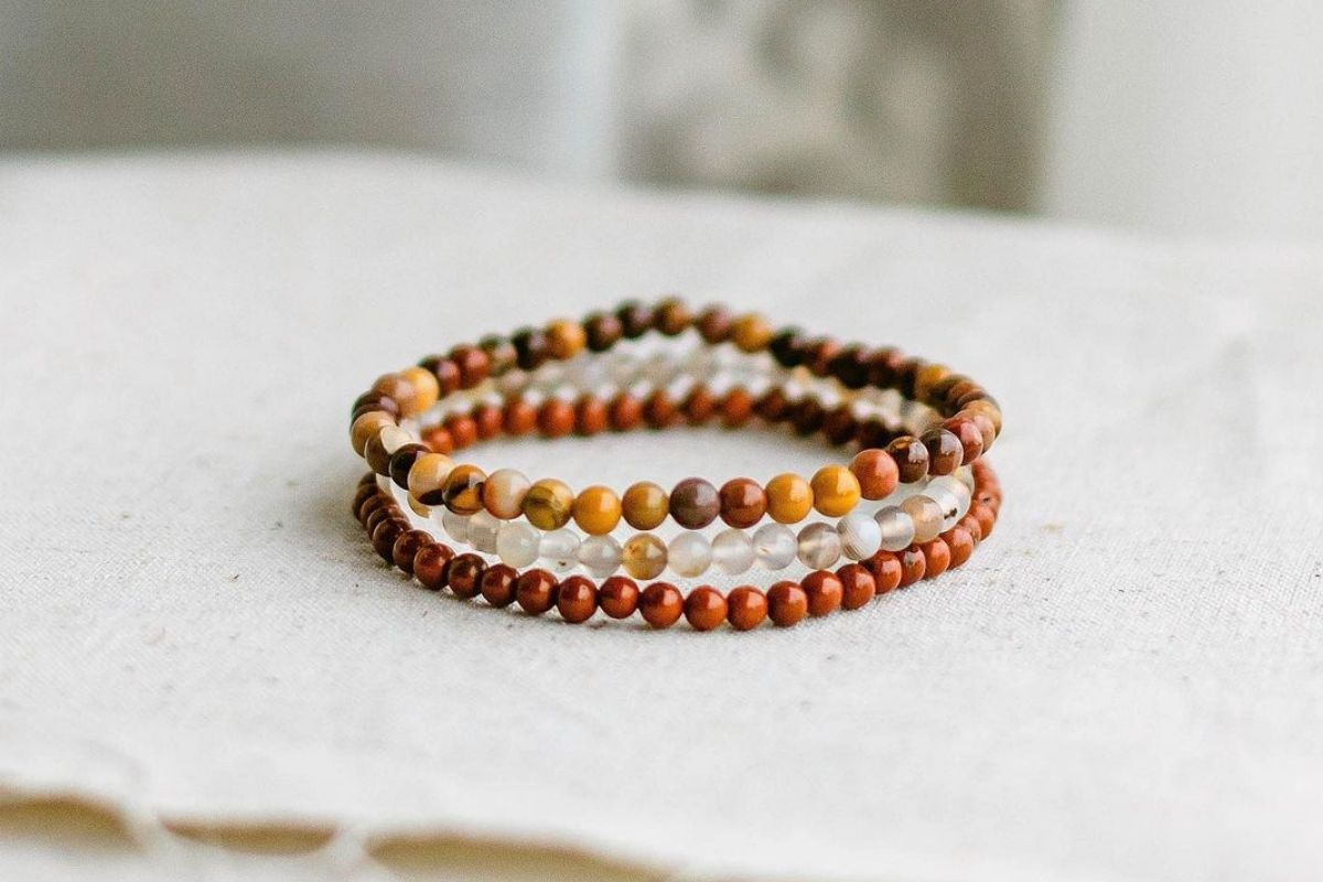 selection of bracelets for courage and strength