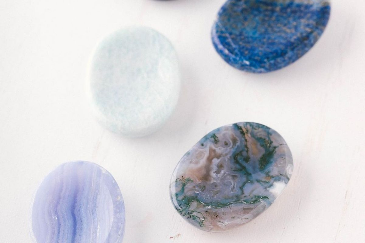 selection of worry stones