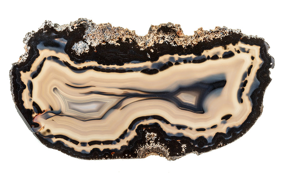 white agate for crown chakra