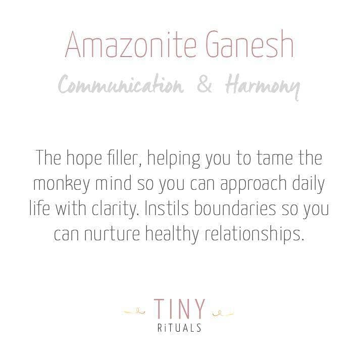 Amazonite Ganesh