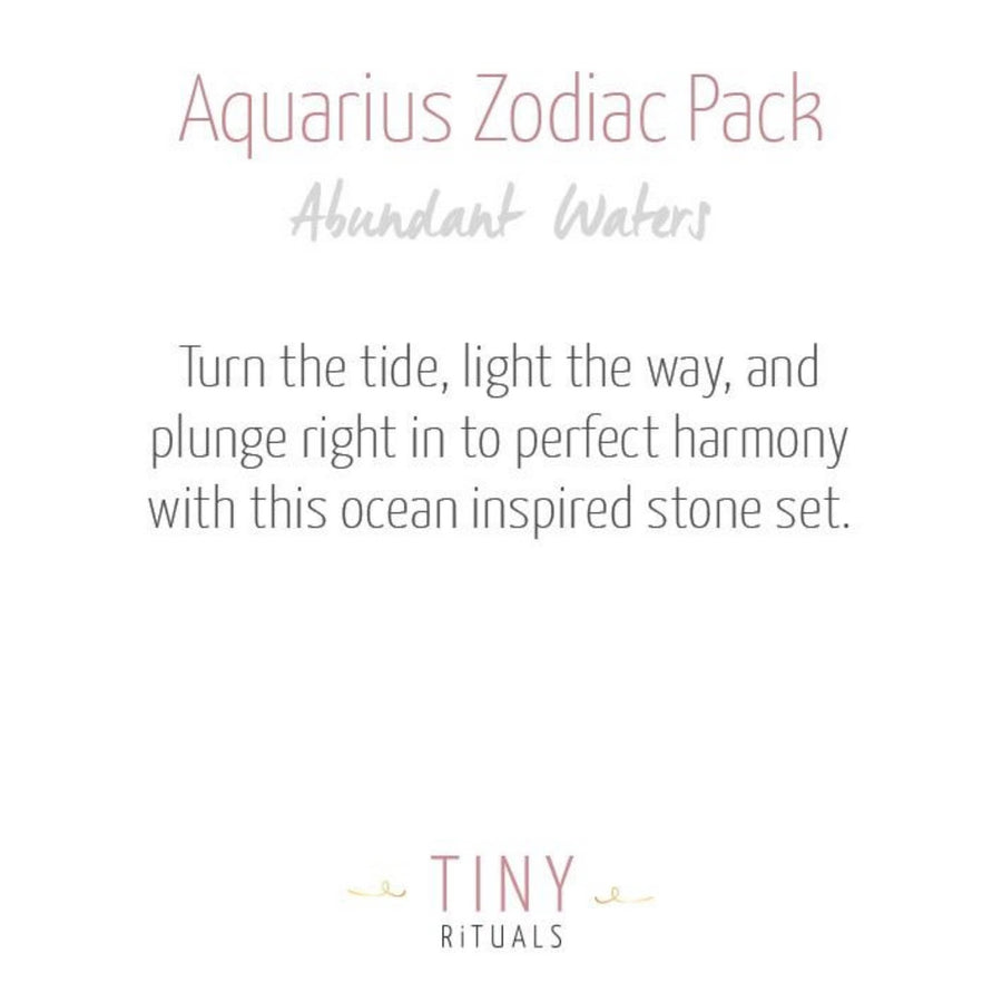 Aquarius Zodiac Pack