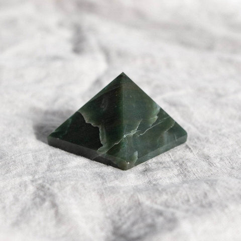 Green Jade Pyramid