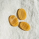 Yellow Calcite Worry Stone 1