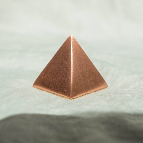 Copper Healing Pyramid