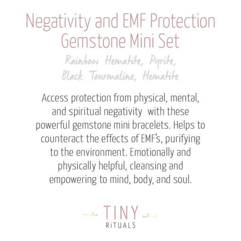 Protection from Negativity & EMF Pack