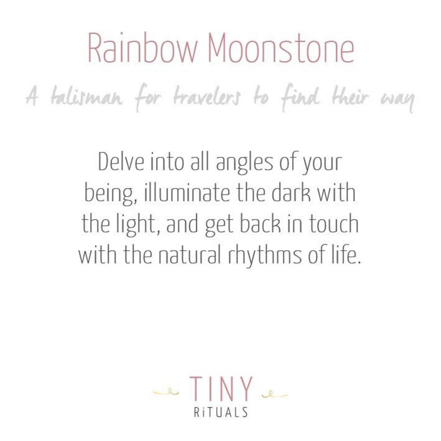 Rainbow Moonstone Sphere