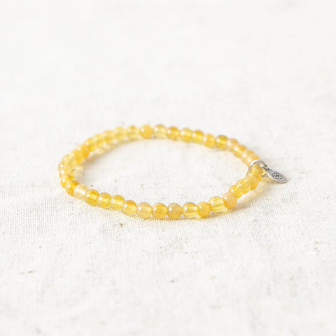 Yellow Topaz Energy Bracelet