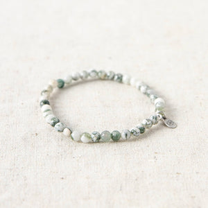 Tree Agate Energy Bracelet