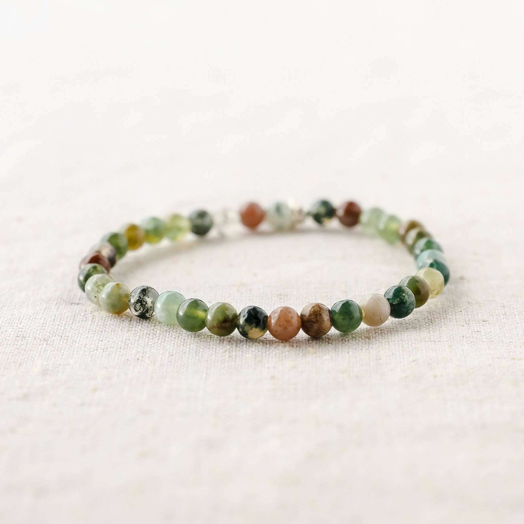 Indian Agate Energy Bracelet