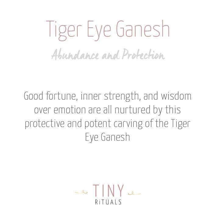Tiger Eye Ganesh