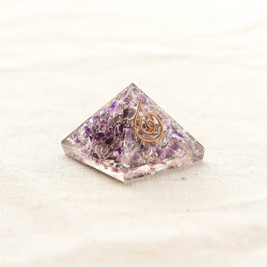 Mini Gemstone Orgone Pyramid