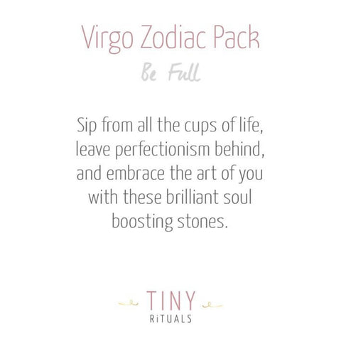 Virgo Zodiac Pack