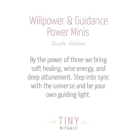 Willpower & Guidance Pack