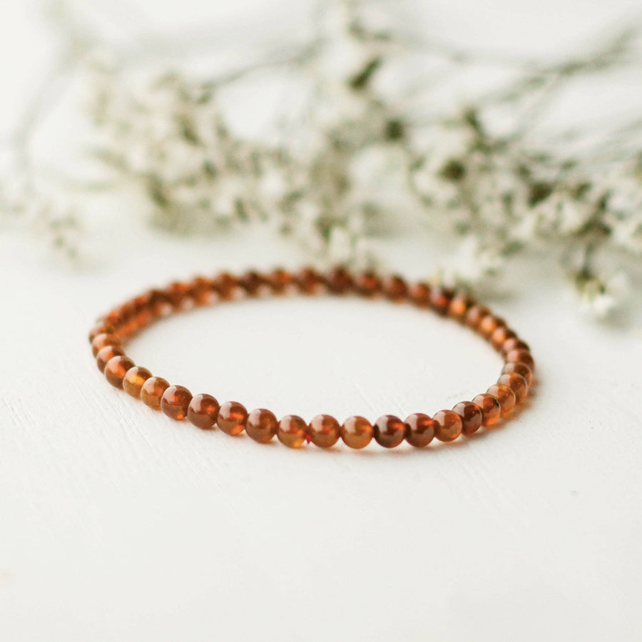 Hessonite Energy Bracelet
