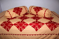 Single Bed sheet with Bolsters