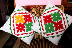 Set of 5 Multicolor Cushion Covers
