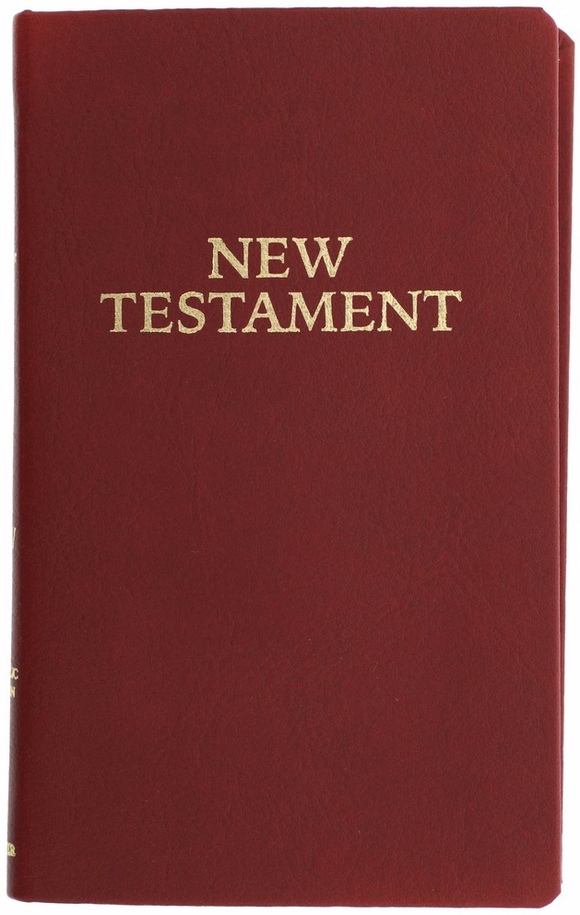 RSV Pocket New Testament - Scepter Publishers