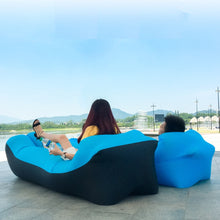 Load image into Gallery viewer, Inflatable Air Sofa Bed Garden Lazy Chair