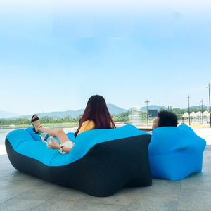 Inflatable Air Sofa Bed Garden Lazy Chair