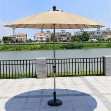 Load image into Gallery viewer, 2.5 meter 24K steel iron ribs patio umbrella