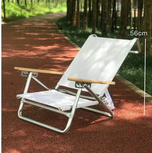 Load image into Gallery viewer, 5 Position Folding Beach Chair with Carrying Strap