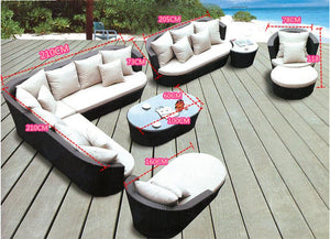 Large Size Outdoor Sofa Set