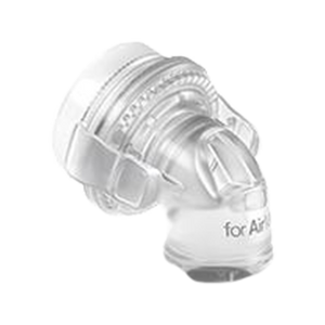 ResMed AirMini™ Travel CPAP Connector for AirFit™/AirTouch™ F20 and F30 Full Masks side view