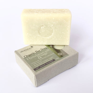 Hand made Bar Soap Himalayan Salt & Sage